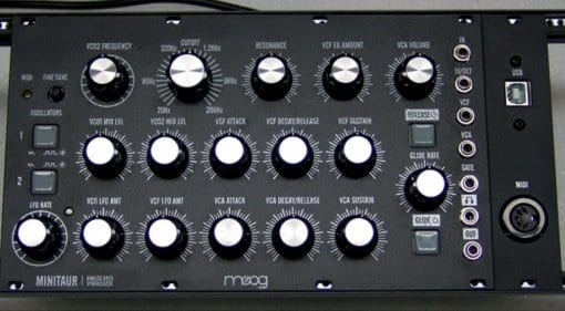 Moog Minitaur DIY conversion kit