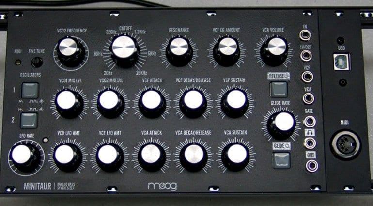 Moog Minitaur DIY conversion kit