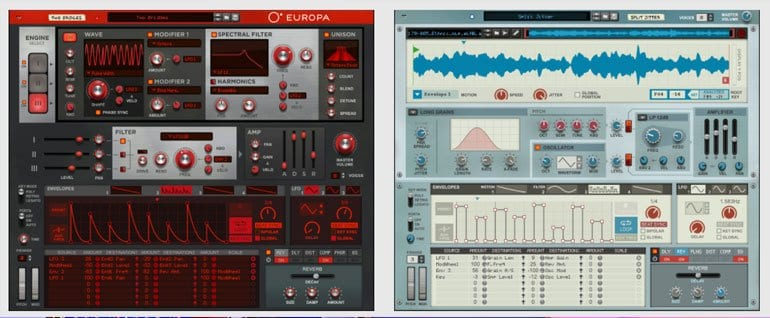 Propellerhead Reason 10 synthesizers