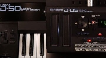 Roland D-05 vs D-50 shootout