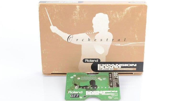 Roland SR-JV80-02 orchestral expansion card