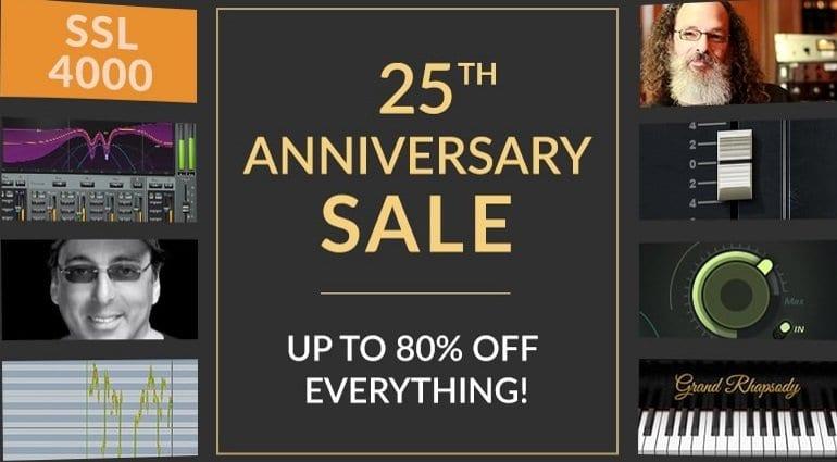 FabFilter summer sale: 25% off all plug-in bundles until 1