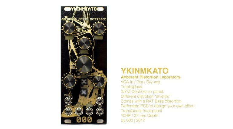 000 YKINMKATO Distortion Lab Interface