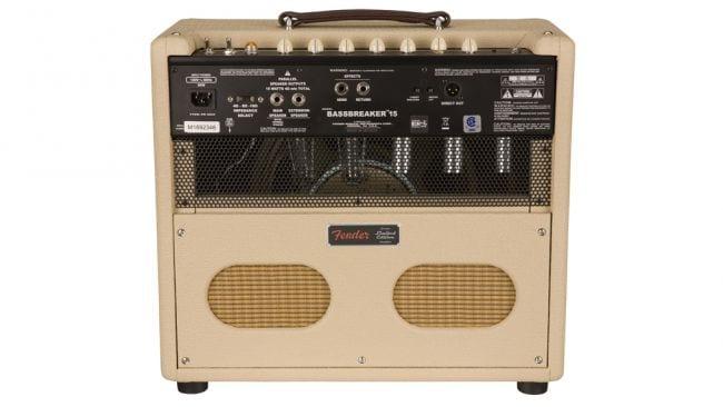 Fender upgrades Bassbreaker 15 combo amp to limited FSR