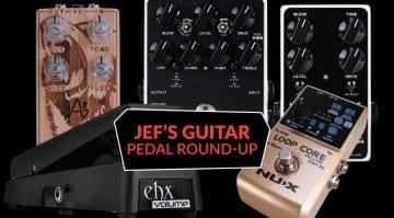 Jef's Pedal Roundup EHX NUX Dark Glass and Anasound