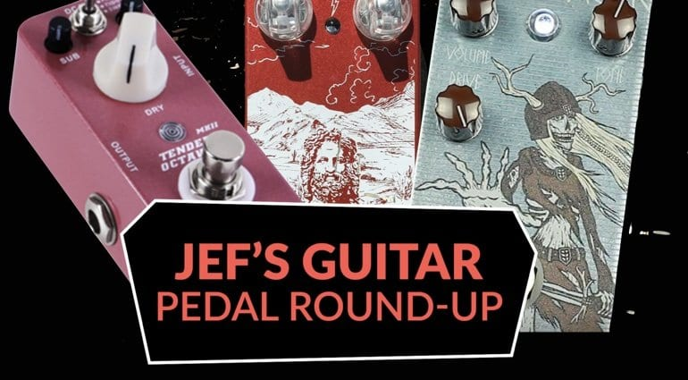 Jef's Pedal Roundup Mythos Pedals Chupacabra Mooer Temnder Octaver MKII Rougarou Pedals DRAUGR