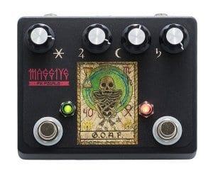 Massive FX G.O.A.F fuzz:octave pedal