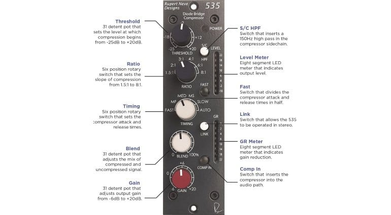 Neve 535 Diode Bridge Compressor
