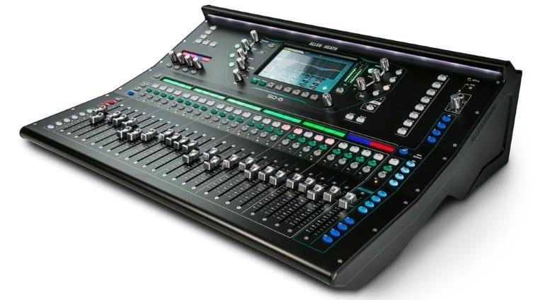 A&H SQ-6 digital mixer