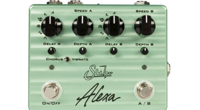 Suhr Alexa dual analog chorus pedal