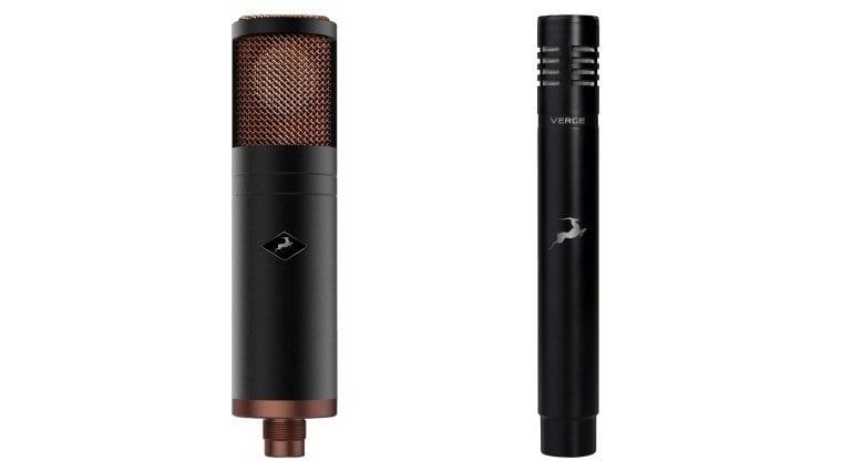 Antelope Audio Edge and Verge microphones