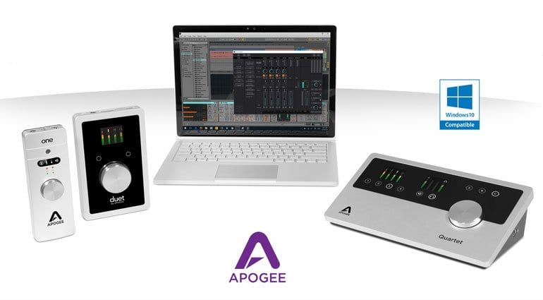 Apogee Windows compatibility