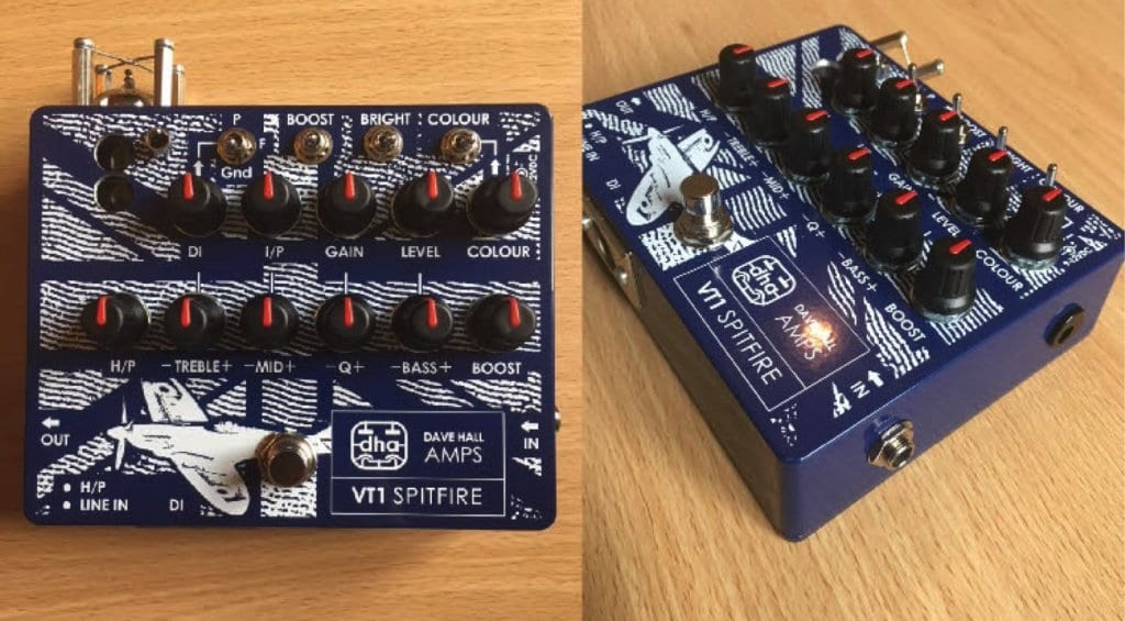 DHA VT-1 Spitfire preamp, overdrive and EQ