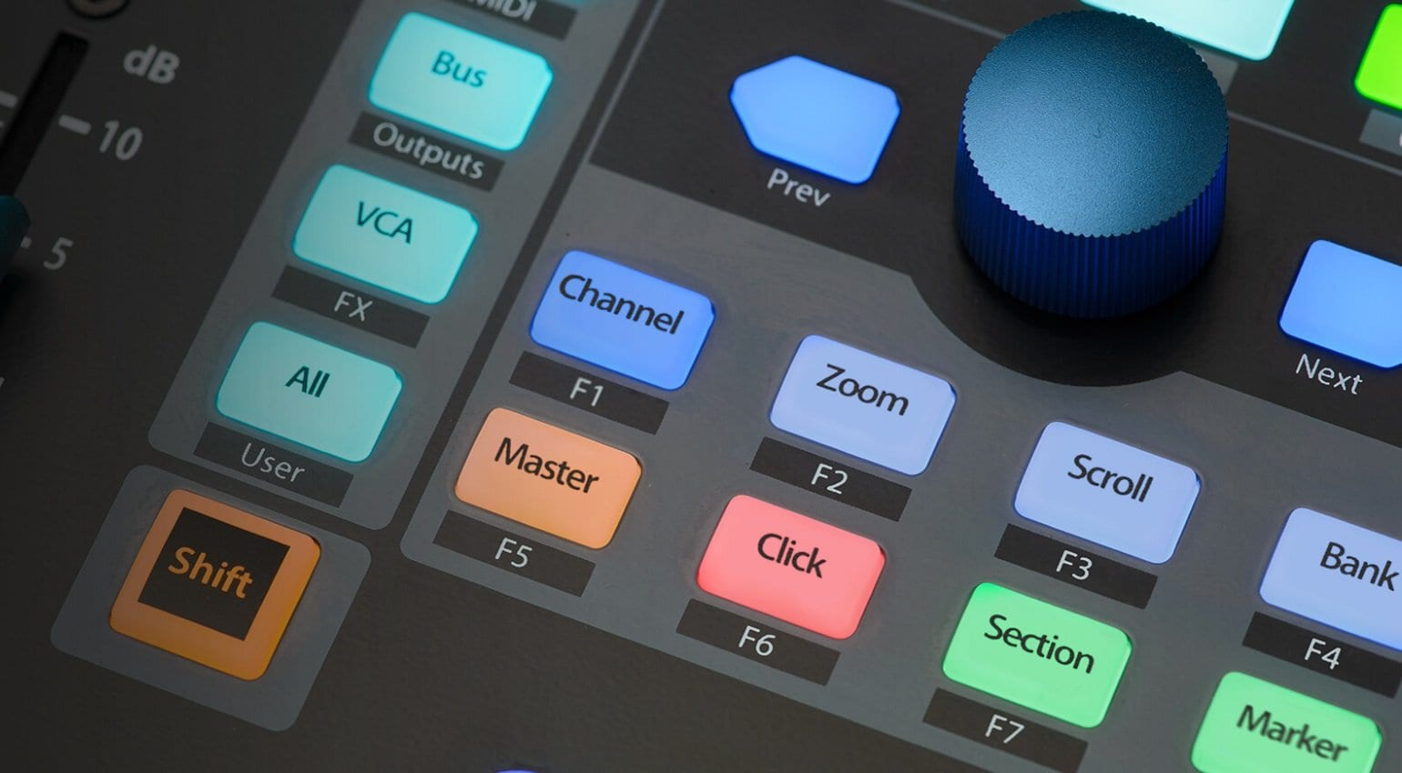 PreSonus plugs in FaderPort 16 controller for hands-on DAW mixing