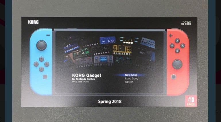 Korg Gadget Switch