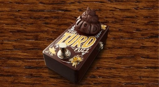 Dr No Effects Mini Turd fuzz pedal