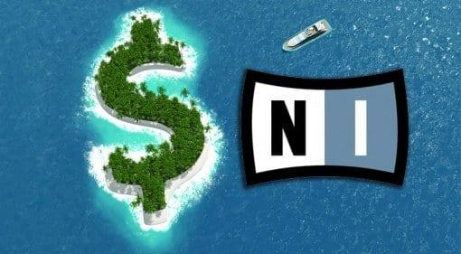 Native Instruments' money island