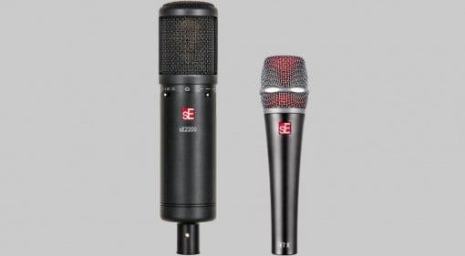 sE2200 & V7-X microphones