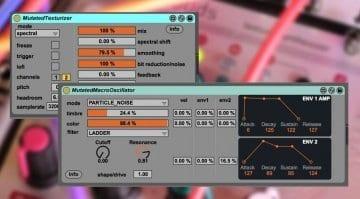 Mutated Texturizer and Macro Oscillator