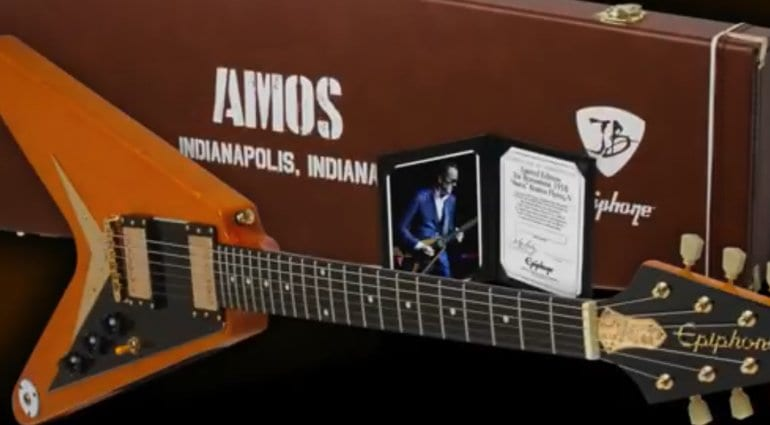 Epiphone Joe Bonamassa Limited Edition 1958 Amos Flying V