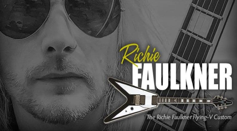 Epiphone Richie Faulkner Flying V Limited Edition