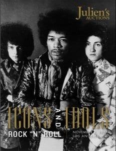 Julien's Auctions Hendrix Memorabilia