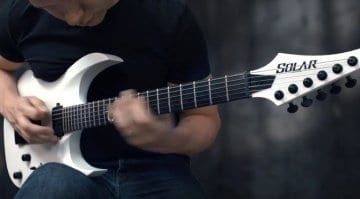 Ola Englund Launches Solar Guitars Type A