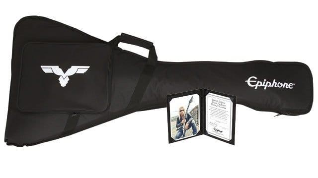 Epiphone Ltd. Ed. Richie Faulkner Flying-V Custom Outfit