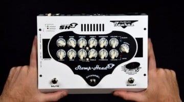 Taurus releases Stomp-Head 3 pedalboard guitar amp