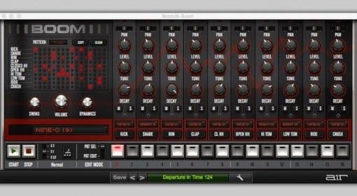 AIR Music Technology Boom drum machine