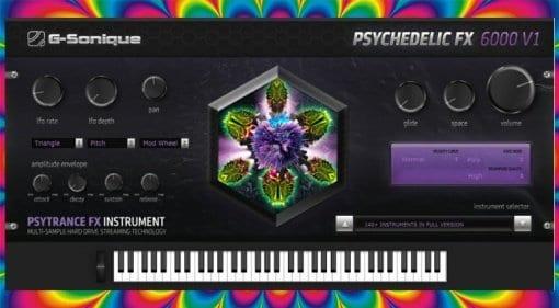 G-Sonique Psychedelic FX6000 V1