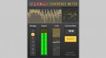 HoRNet plug-ins Coherence Meter