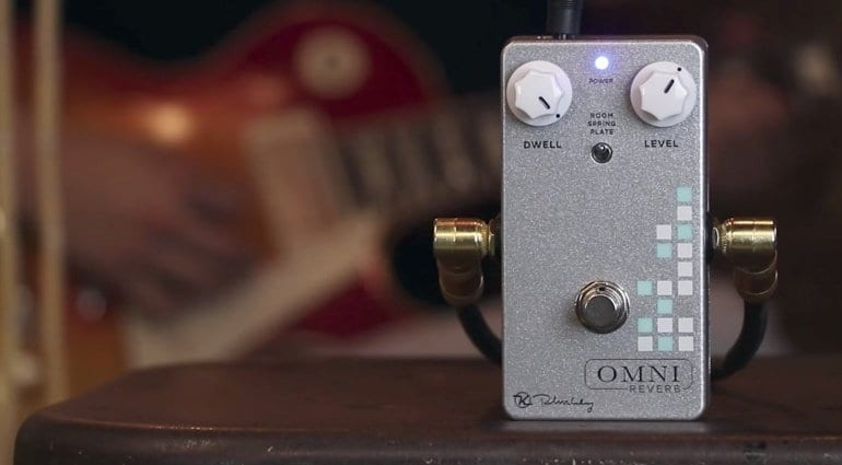 Keeley Omni Reverb pedal