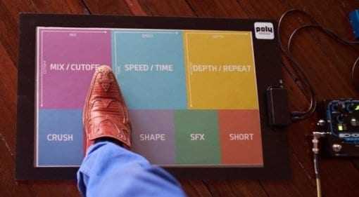 Poly Expressive MIDI foot controller
