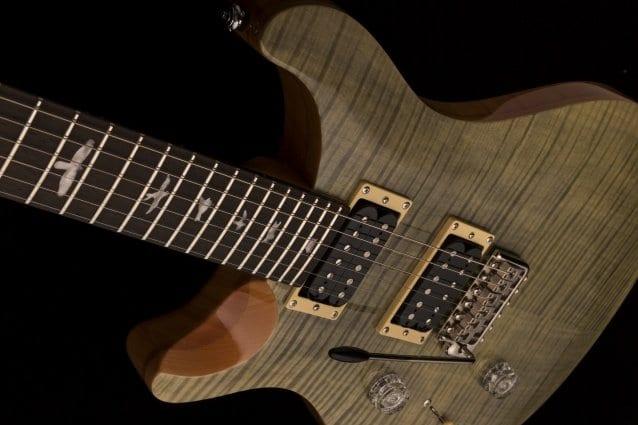 PRS SE Custom 24 left handed model