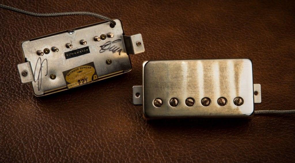 Seymour Duncan Joe Bonamassa Amos Pickup Set - \'58 Flying V tone ...