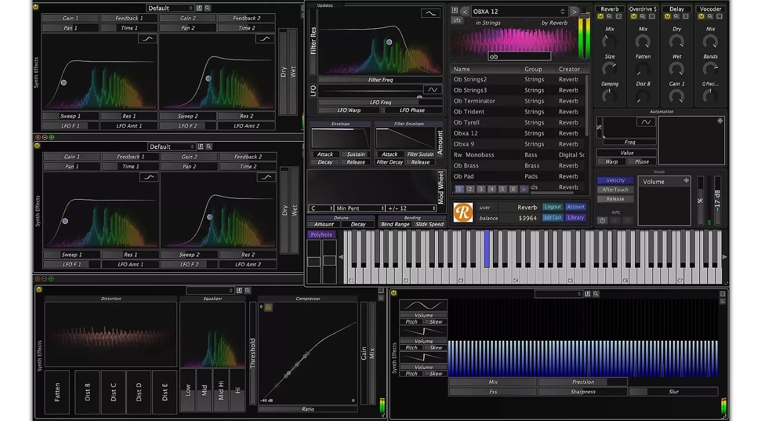 Stagecraft Infinity free synthesizer