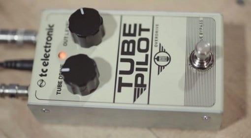 TC Electronics Tube Pilot valve 12AX7 overdrive pedal