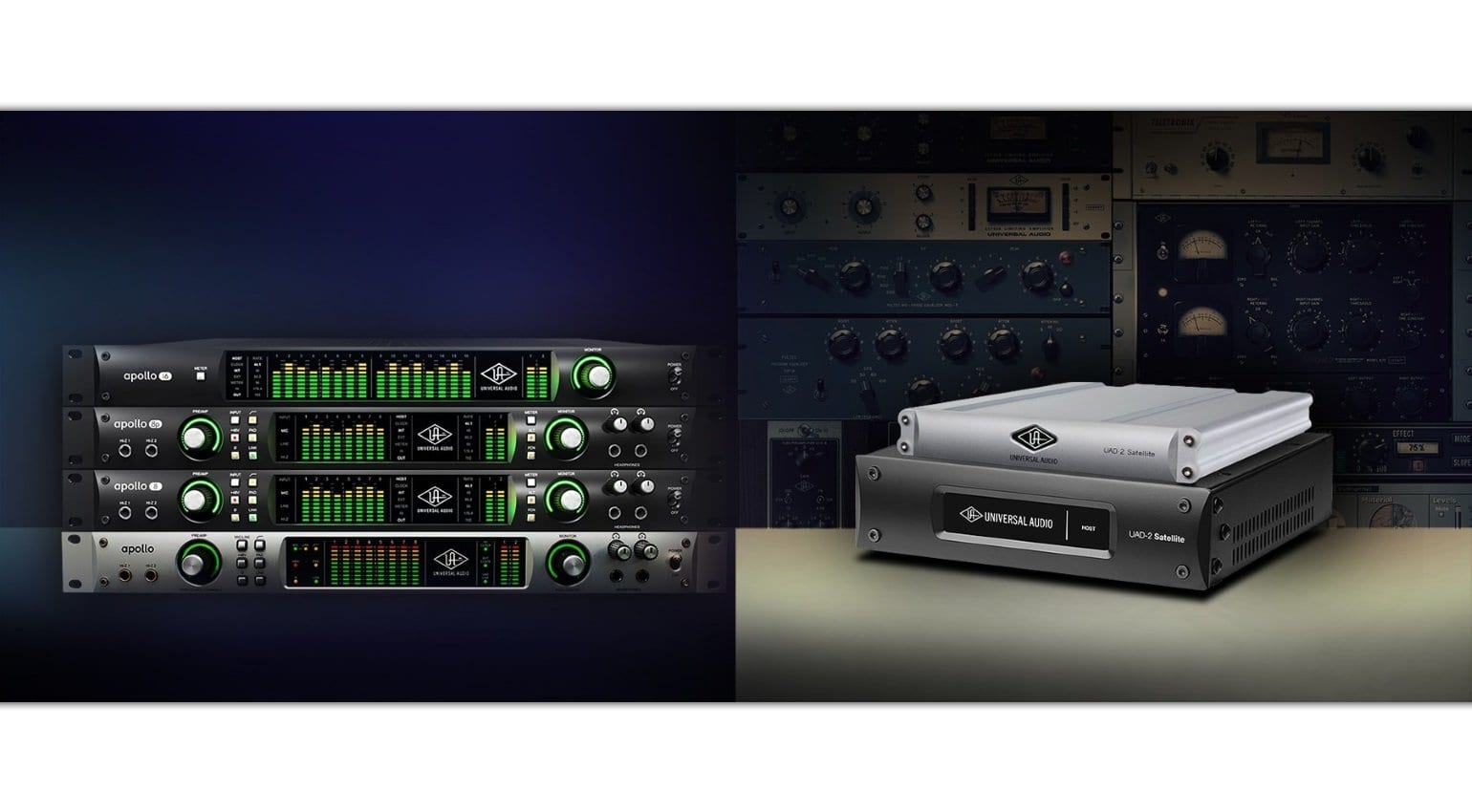 UA gives away plug-ins and DSP accelerators for Apollo