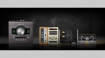 UA Apollo Twin plugins promo
