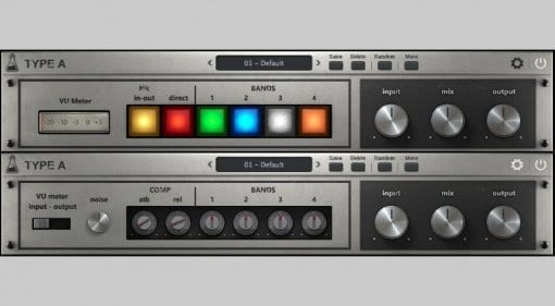 AudioThing Type A vintage enhancer vst au plug-in