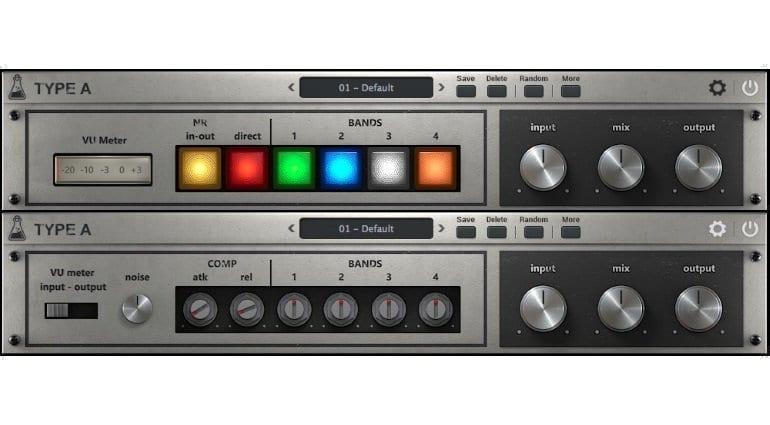 AudioThing Type A vintage enhancer vst au plug-in gallery