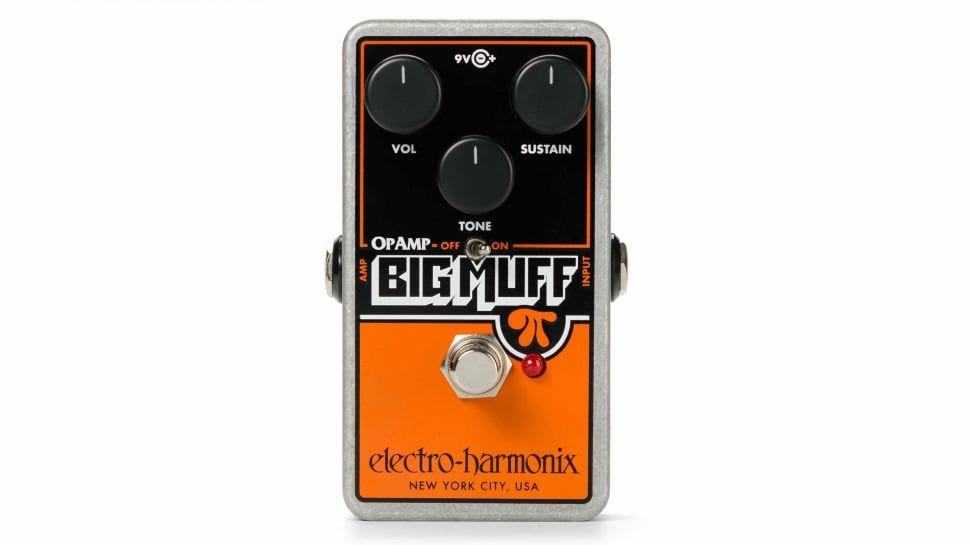 Electro-Harmonix announces reissue of Op-Amp Big Muff Pi pedal