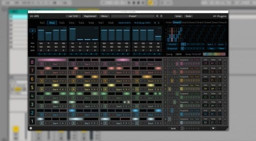 HY RPE Sequencer plug-in