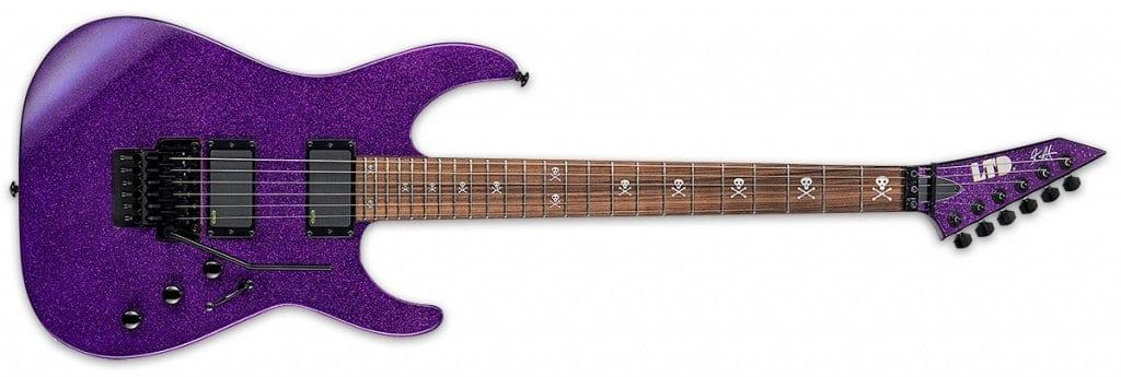 Kirk Hammett KH-602 PURPLE SPARKLE