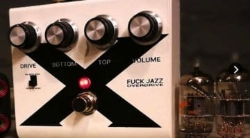 LAA Custom Phil X Signature Fuck Jazz Overdrive pedal