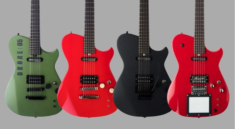 Manson Matt Bellamy MB-1 Red Santa, Black Knight, Red Alert and DR-1 Final Edition