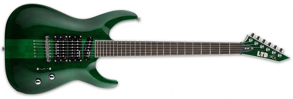 STEPHEN CARPENTER SC-20 SEE THRU GREEN