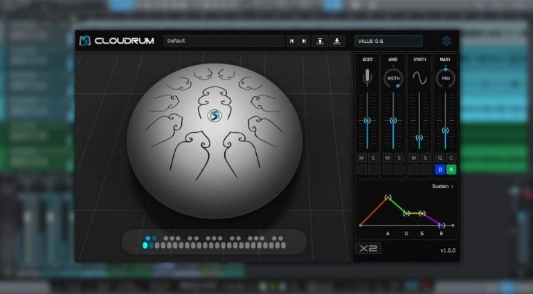 Ample Percussion Cloudrum