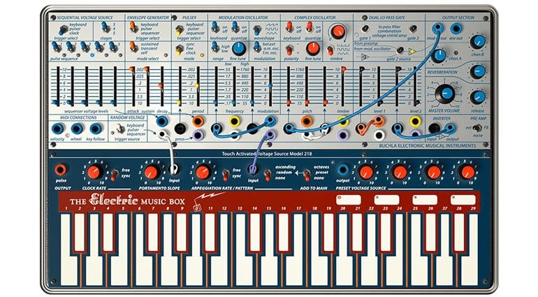 Arturia V Collection 6 Buchla Easel